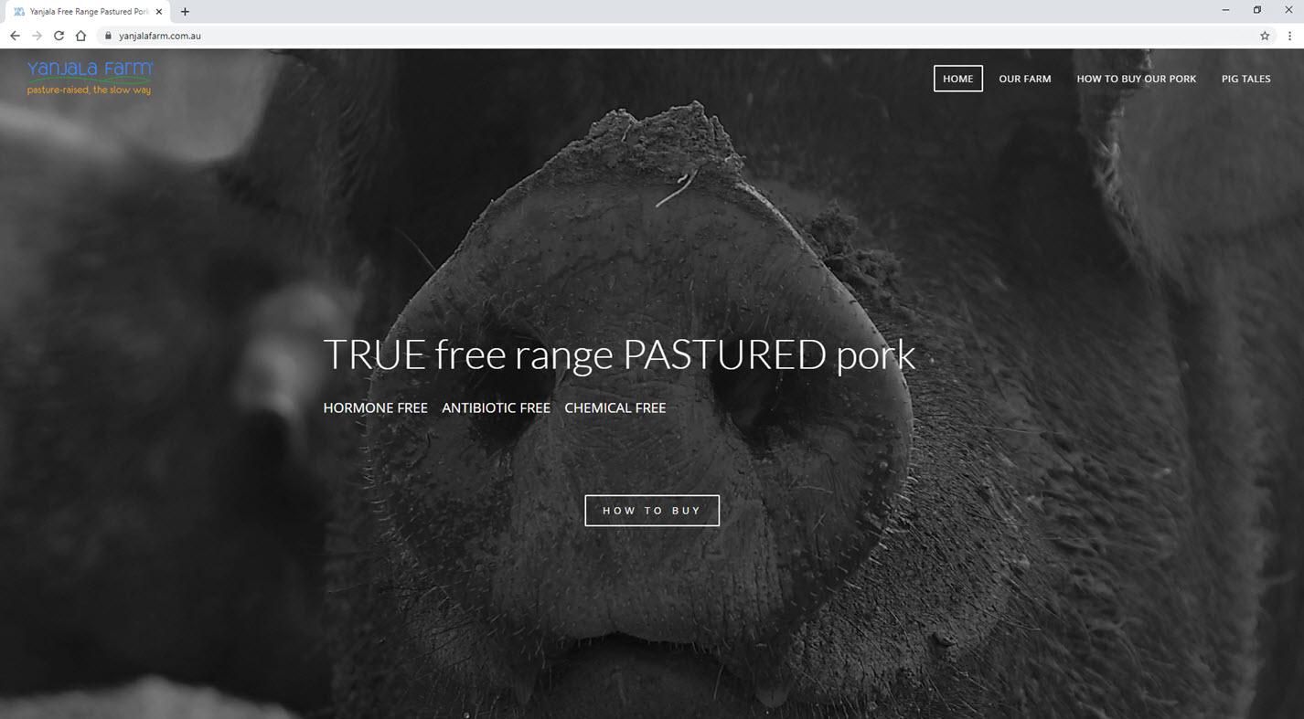 Yanjala Farm Home Page